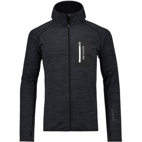 Ortovox M's Fleece Melange Hoody Black Blend